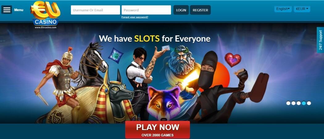 EU Casino Over 2000 Games