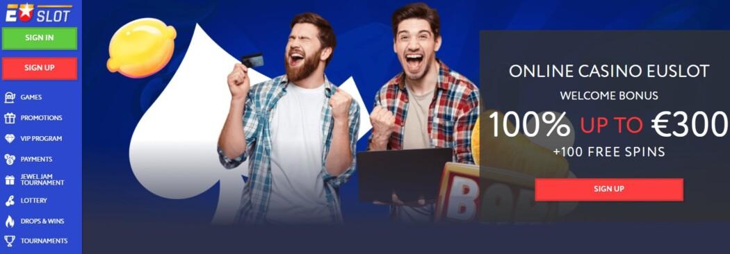EU Slot Casino Welcome Offer