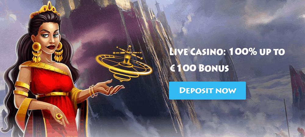 Casino Gods Live Casino Bonus