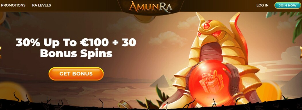 Amun Ra Welcome Offer