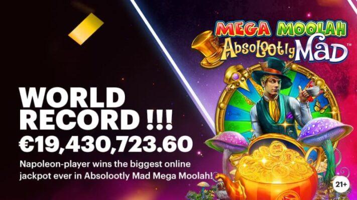 €19M Microgaming Progressive Jackpot Win Smashes Online Casino Records